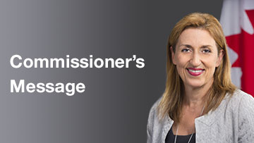 Commissioner's Message